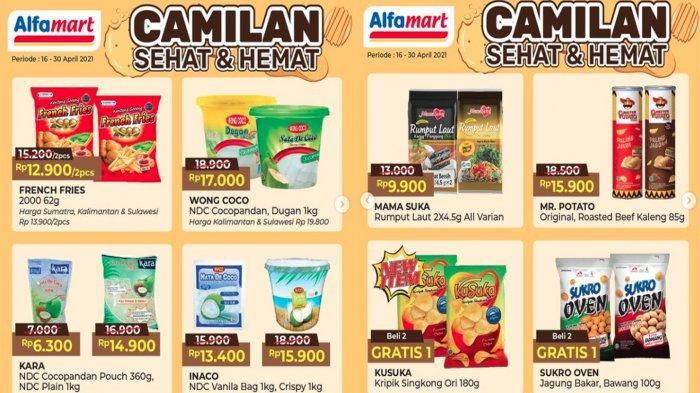 UPDATE PROMO ALFAMART Hari Ini 20 April 2021, Diskon Ramadhan Serba Hemat & Alfamart Bagi-bagi THR