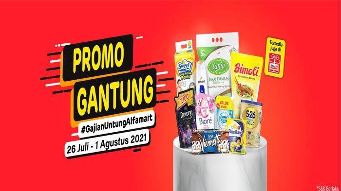 PROMO JSM ALFAMART Weekend Hari Ini 1 Agustus 2021, Diskon Beras Susu hingga Minyak Goreng