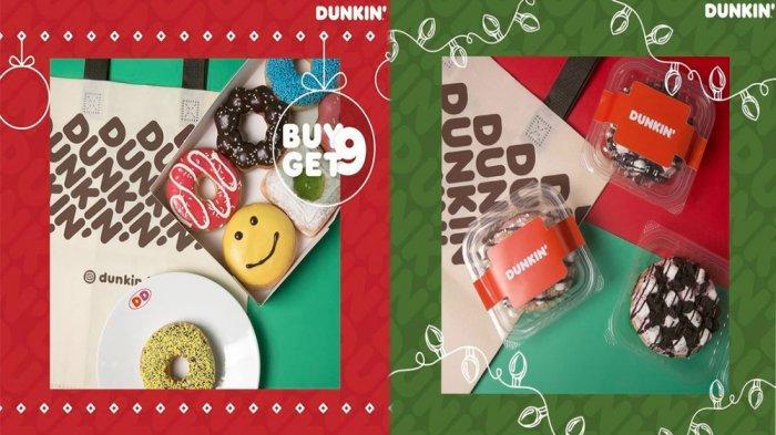 UPDATE PROMO Dunkin Donuts Hari Ini 31 Desember 2020, Promo DD Card Pay DayBeli 9 Gratis 9 Donuts