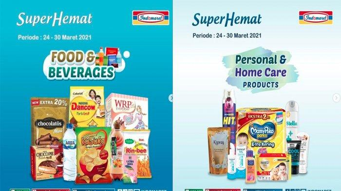 UPDATE PROMO INDOMARET Hari Ini 25 Maret 2021, Promo Heboh Super Hemat Snack hingga Susu Murah