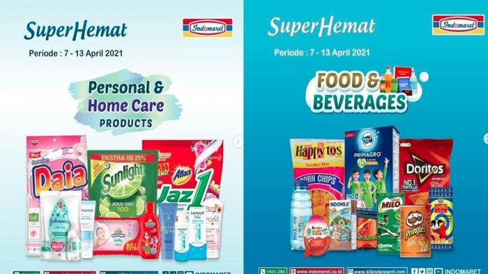 UPDATE PROMO INDOMARET Hari Ini 8 April 2021, Susu Minuman Snack dan Beras Murah Rp 53.900 per Sak