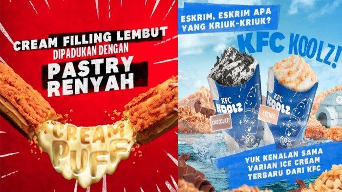 UPDATE PROMO KFC Akhir Pekan 6 Juni 2021, Menu Creampuff hingga Ice Cream KFC Koolz Mulai 13 Ribuan