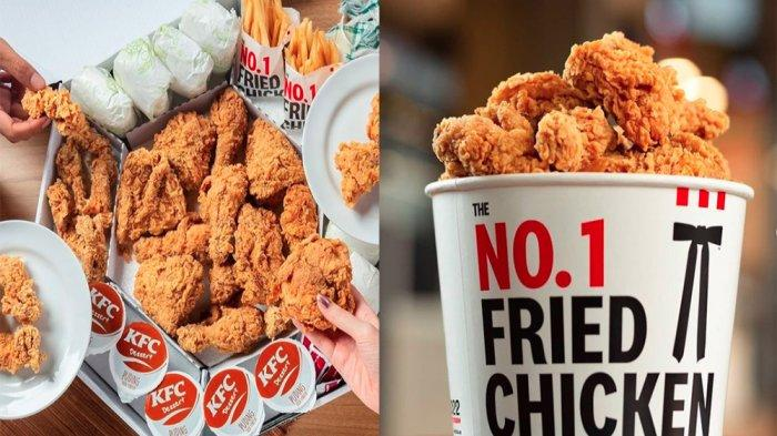 UPDATE PROMO KFC Hari Ini 19 Mei 2021, Paket Super Lengkap Mega Kombo Hemat Banget di KFC Terdekat
