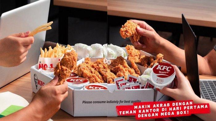 UPDATE PROMO KFC Hari Ini 27 April 2021, Buka Puasa Mega Combo Super Besar 2 Murah di KFC Terdekat
