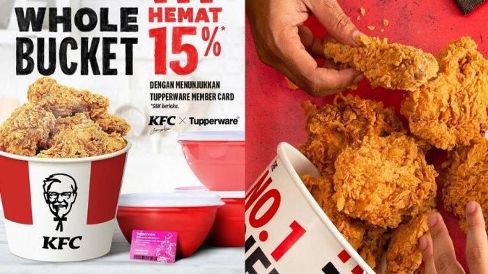 UPDATE PROMO <a href='https://manado.tribunnews.com/tag/kfc' title='KFC'>KFC</a> Terbaru 7 Mei 2021, <a href='https://manado.tribunnews.com/tag/whole-bucket' title='WholeBucket'>WholeBucket</a> Hemat 15 Persen hingga <a href='https://manado.tribunnews.com/tag/paket-combo-ramadan' title='PaketComboRamadan'>PaketComboRamadan</a> Murah