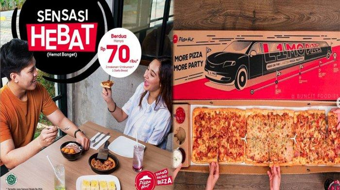 UPDATE PROMO PIZZA HUT Hari Ini 18 Mei 2021, Sensasi Hebat Makan Enak Murah Berdua Cuma Rp 70 Ribu