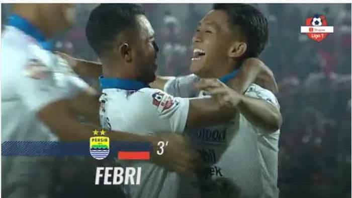 UPDATE Live Skor Madura United vs Persib Bandung Liga 1 - Gol Bunuh Diri dan Febri Haryadi, Skor 1-1