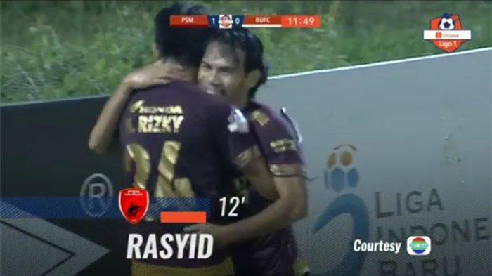 Update Skor PSM vs Bali United - Gol Rasyid Bakri Bawa Tuan Rumah Unggul | Update Klasemen Liga 1