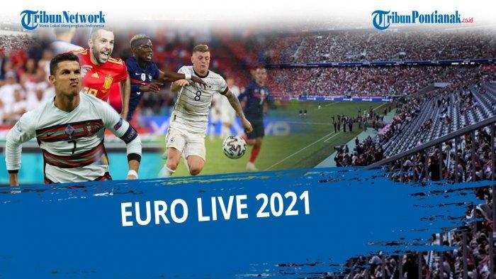 TOP SKOR Euro Usai Cristiano Ronaldo Cetak Gol di Laga Jerman Vs Portugal, Cek Klasemen Piala Eropa