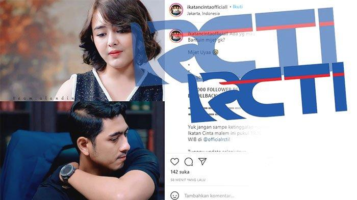 USEETV RCTI hingga Vidio.com RCTI Live Ikatan Cinta , Tonton Streaming RCTI Ikatan Cinta Malam Ini