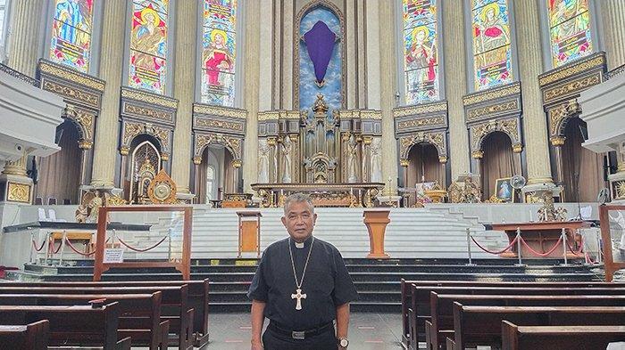 Memaknai Paskah, Uskup Agung Pontianak Mgr Agustinus: Hiduplah Tanpa Langgar Hukum Tuhan