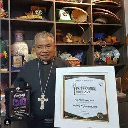 Uskup Agung Pontianak Mgr Agustinus Agus Ucapkan Terima Kasih untuk Indonesia Award Center