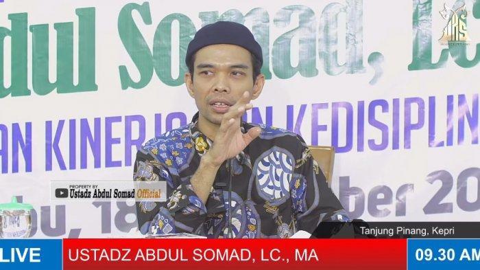 Ustadz Abdul Somad (UAS): Saya Berapa Kali Dimasukkan Orang Tu ke Neraka