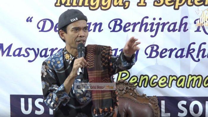 Pesan Moril Menyejukkan dari Ustadz Abdul Somad UAS Terkait Kerusuhan di Wamena