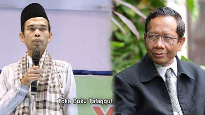 Hukum Ucapkan Selamat Imlek Menurut Ustadz Abdul Somad UAS dan Pernyataan Lugas Prof Mahmud MD