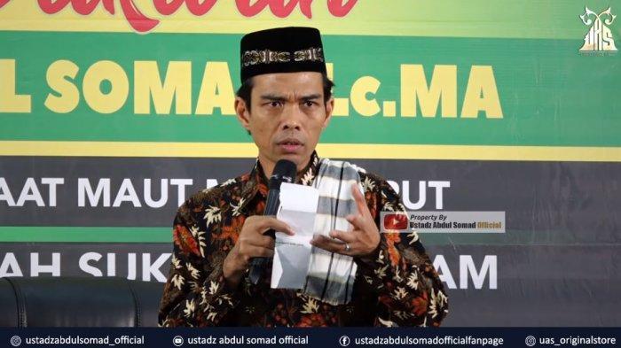 Ustadz Abdul Somad (UAS): Kenapa Bapak Bodoh Bisa Jadi Pimpinan Sidang? UAS: Mungkin Serangan Fajar