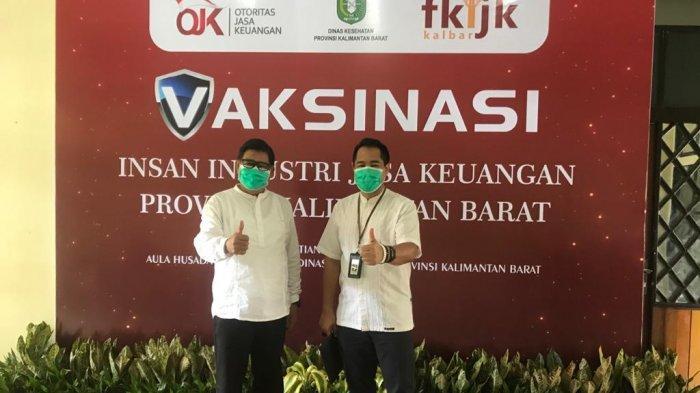 OJK & FKIJK Kalbar Gelar Vaksinasi Covid-19 Bagi Insan Industri Jasa Keuangan