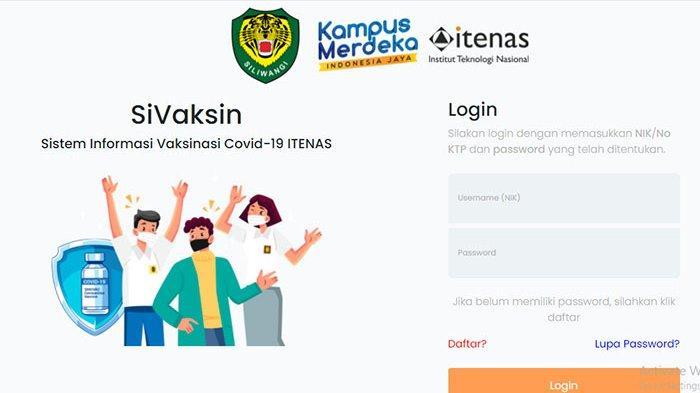 Daftar Vaksin Covid Itenas & Kodam III/Siliwangi di https://vaksincovid19.itenas.ac.id Vaksin Itenas