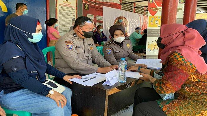 Rutan Pontianak Bersama Polda dan Kanwil Kemenkumham Gelar Vaksinasi Massal Pegawai dan Warga Binaan