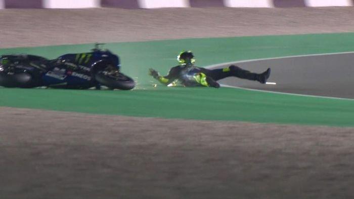 Hasil Tes MotoGP Qatar 2020: Maverick Vinales Unggul, Valentino Rossi Masih Kesulitan