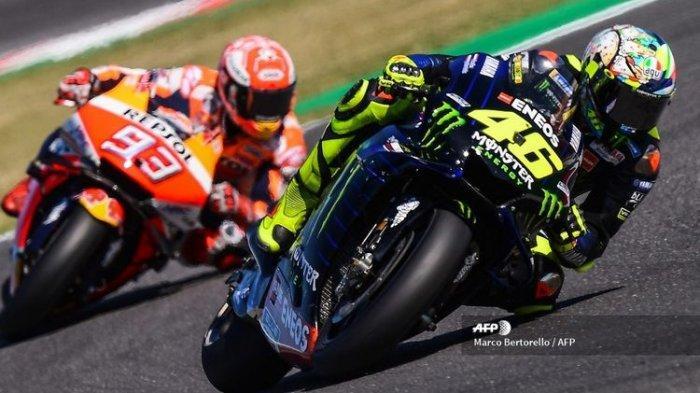 BERITA Terbaru Marc Marquez, Meski Pensiun Catatan Valentino Rossi yang Tak Bisa Dilewati Marquez