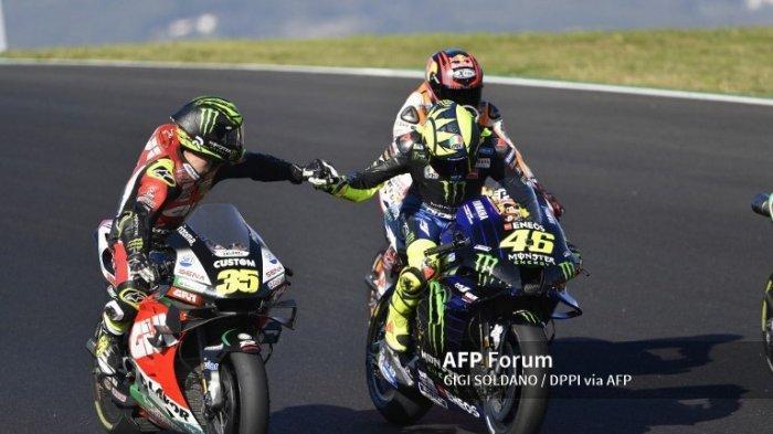 Hasil MotoGP Portugal 2020 Jadi yang Terburuk Bagi Valentino Rossi Sepanjang Karirnya
