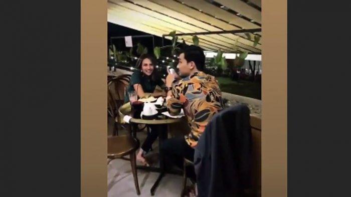 Vanessa Angel sempat makan malam bareng kekasihnya