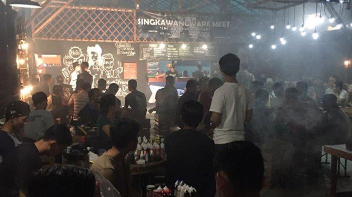Singkawang Vape Meet di Warkop Nogo Berlangsung Meriah