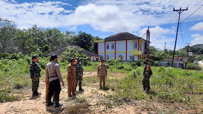 Satgas Cek Lokasi Pendirian Posko Covid-19 di Perbatasan Sintang-Sekadau