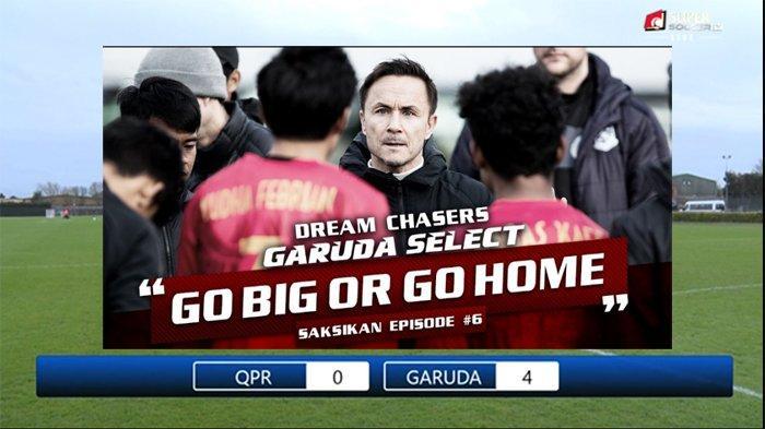 VIDEO: Cuplikan Gol Garuda Select Vs QPR (4-0 FT), Bagus Kahfi Cs Tampil Brilian dan Dominan