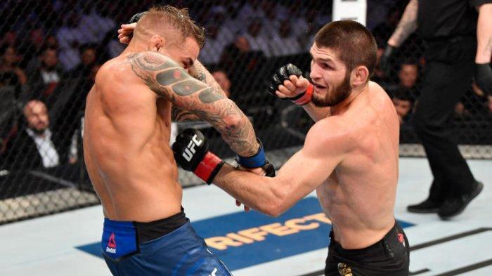 Hasil UFC 242: Menang TKO dari Dustin Poirier, Dana White Sebut Lawan Khabib Nurmagomedov Berikutnya