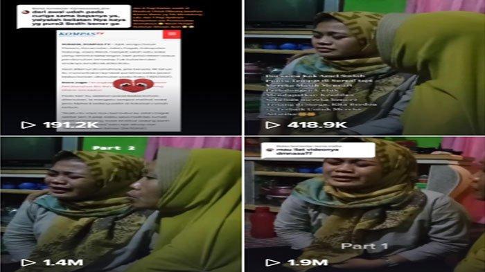 Video Gadis Kerasukan Korban Kasus Subang Viral TikTok, Ungkap Dua Nama Pelaku Pembunuhan