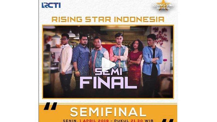 LIVE Rising Star Indonesia, Siapa Kontestan dapat Vote dari Rossa, Ariel, Judika & Yovie? Ayo Dukung