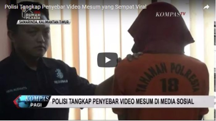 Tertangkap! Ini Sosok Penyebar Video Mesum Samarinda, Begini Cara Pelaku Curi Rekaman Videonya