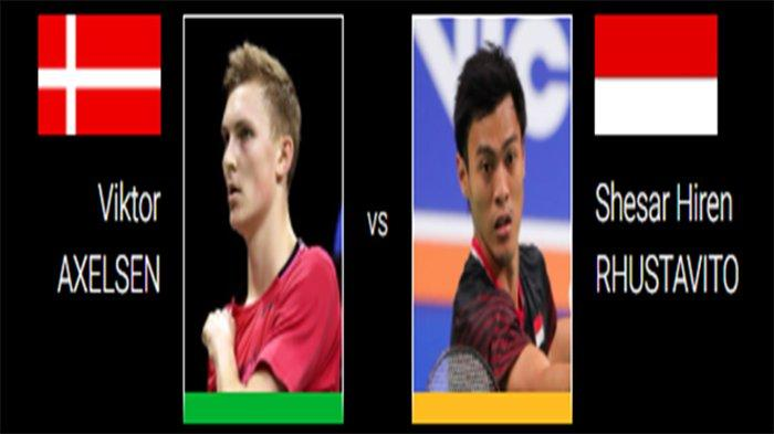 LIVE Hasil Perempat Final Swiss Open 2021 - Vito vs Axelsen dan The Babies Leo/Daniel vs Aaron/Soh