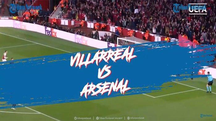 TOP SKOR Liga Europa Lengkap Live Hasil Semifinal Villareal Vs Arsenal dan Man United Vs AS Roma