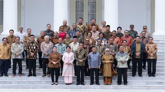 UPDATE! Daftar Calon Menteri Kabinet Jokowi-Ma'ruf - Nadiem Makarim, Tetty Paruntu hingga Prabowo