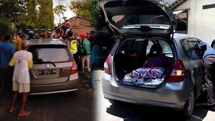 Viral Video Detik-detik PNS Ketahuan Mesum Tabrak Satpam Hingga Terpental ke Atas Mobil
