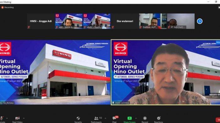 Hino Outlet Sintang Resmi Dibuka, Siap Berikan Pelayanan Maksimal pada Customer