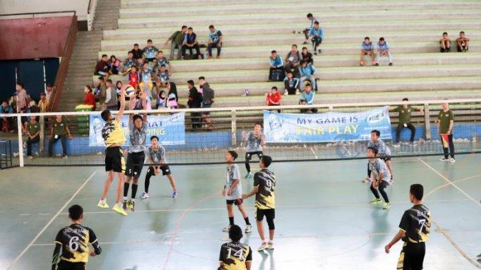 PBVSI Gelar Liga Bola Voli antar Klub se Kota Pontianak