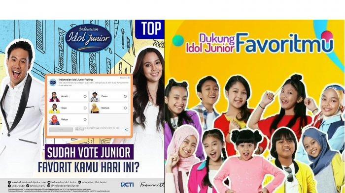 Vote Indonesian Idol Junior: Begini Cara Voting Agar Idolamu Lolos Babak Berikutnya