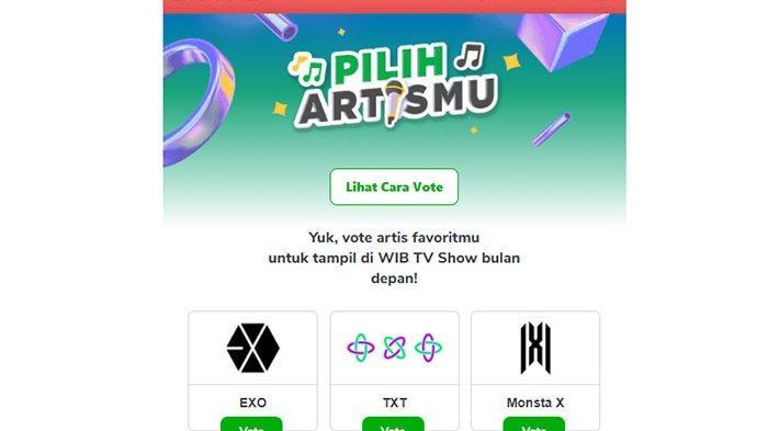 Cara Vote Artis Korea Di Tokopedia Segera Vote Wib Guest Star Link Vote Idol Kpop Di Tokopedia Tribun Pontianak