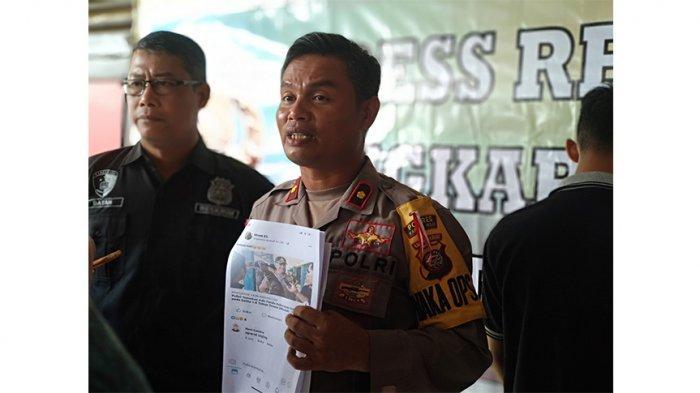 Hujat Aparat di Facebook, Seorang Pria Kapuas Hulu Ditangkap Polisi