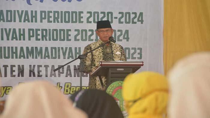 Wakil Bupati Ketapang Harap Pemuda Muhammadiyah, Nasyiatul Aisyiah dan IPM Terus Maju dan Berkembang