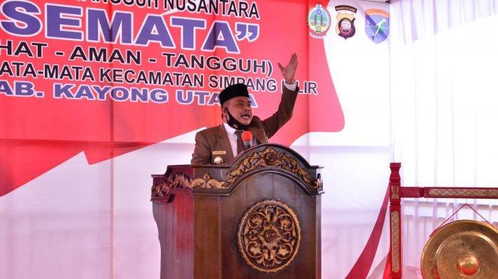 Launching Kampung Tangguh Nusantara, Wabup Effendi Harap Kerjasama Masyarakat dan Aparat