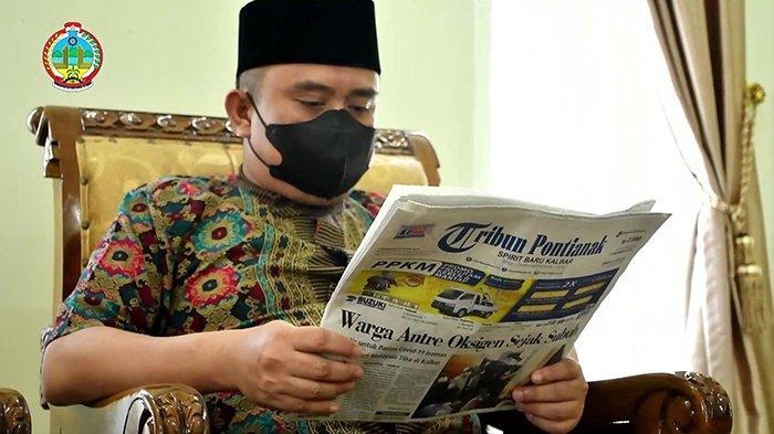 Wabup Kayong Utara Nilai di Era Digital, Media Massa Miliki Tantang Besar dalam Menyajikan Informasi