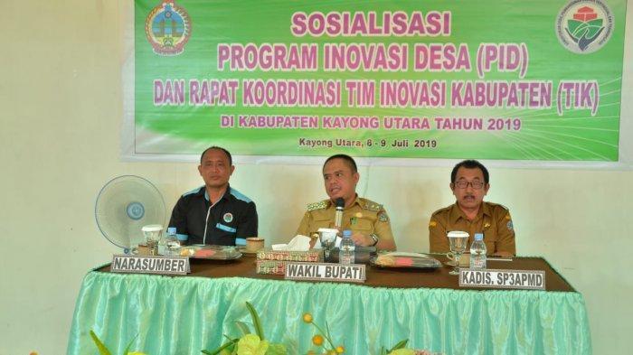 Wabup Effendi Harap Program Inovasi Desa Tingkatkan Layanan Teknis