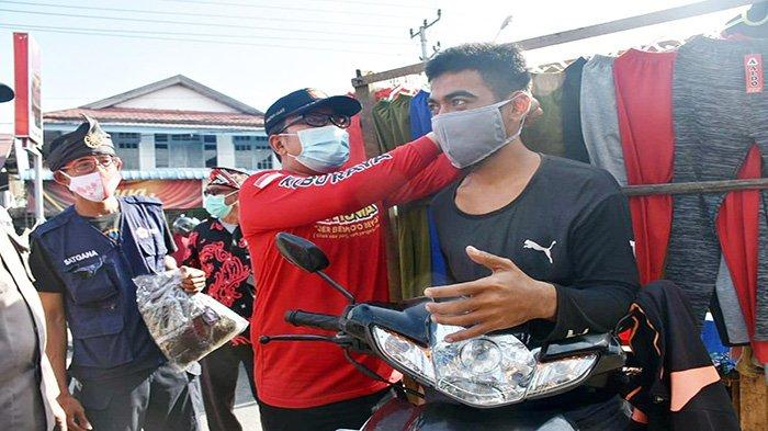 Wabup Sujiwo Nilai Disiplin Warga Kenakan Masker Mulai Menurun