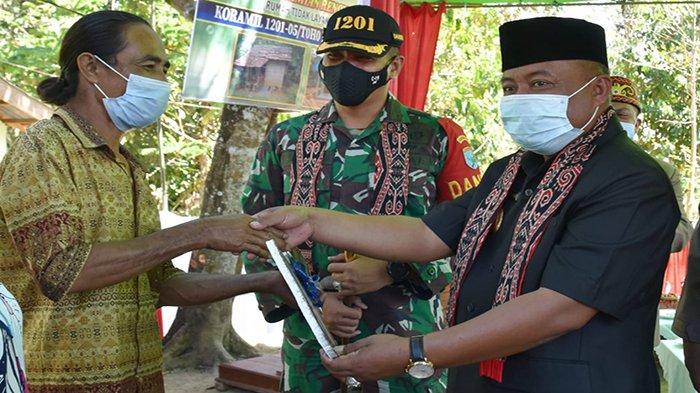 Kades Pak Utan Sampaikan Terimakasih Atas Renovasi RTLH untuk Rumah Warganya