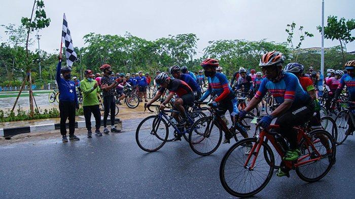 Touring Sepeda Kalbar, Edi Rusdi Kamtono Komitmen Jadikan Pontianak Destinasi Sport Tourism